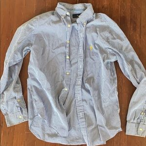 Ralph Lauren Striped Button Down